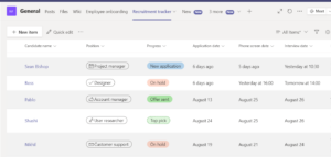 Microsoft Lists: Smart information tracking