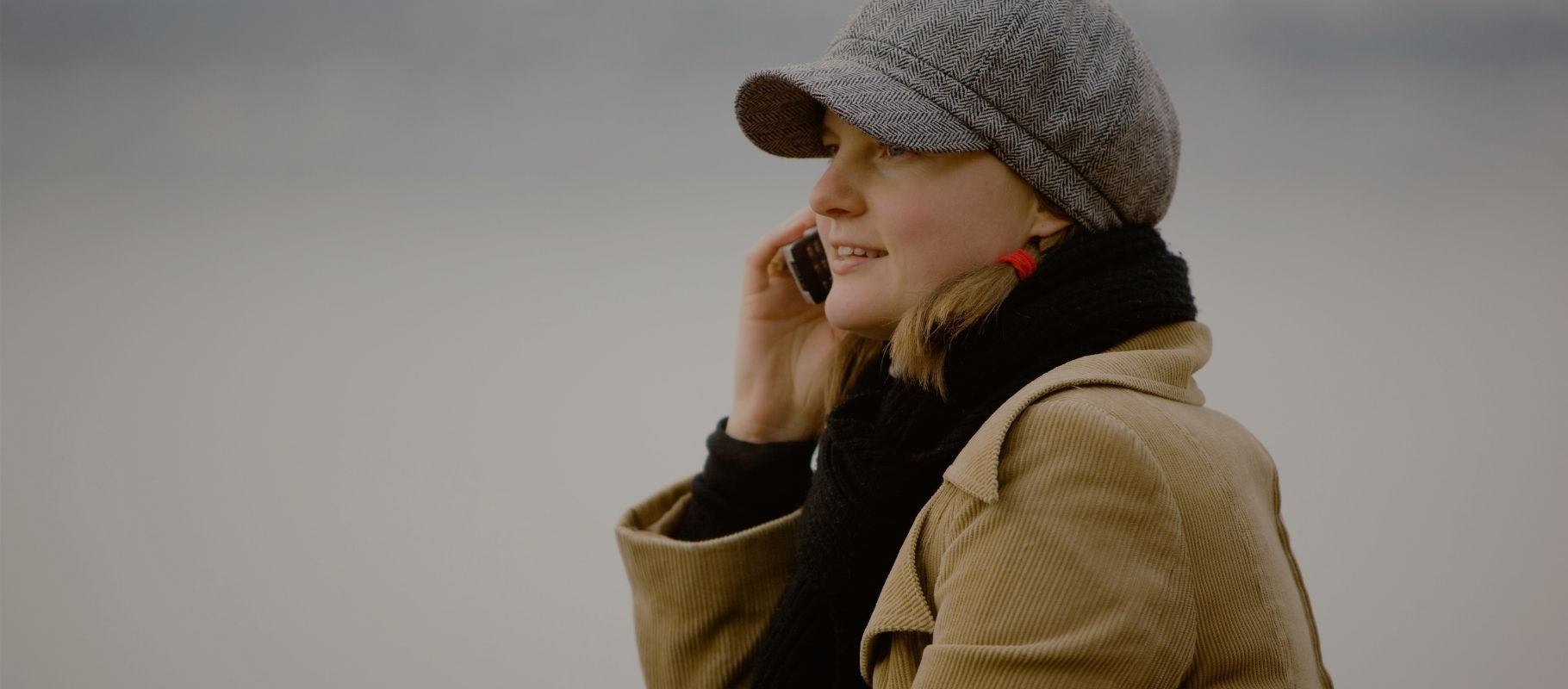 Girl on Cell Phone showing correlation ofRadio Frequency Radiation and Your Health