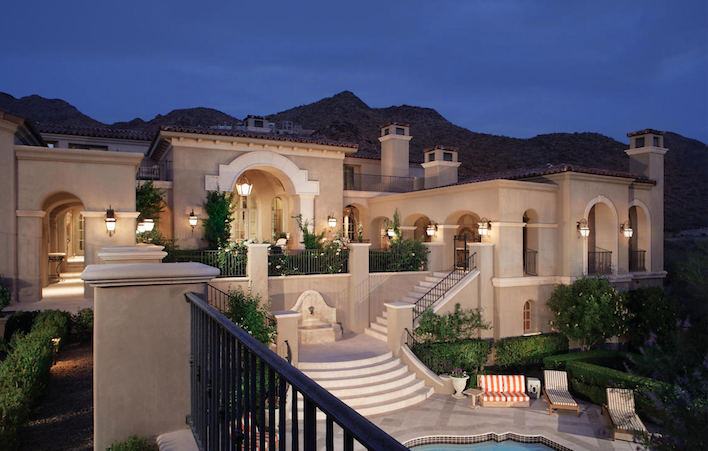 Scottsdale 2 acre lot with guest casita and grand entry fairytail staircase $9,995,000 - Mike Domer with RE/MAX Excalibur