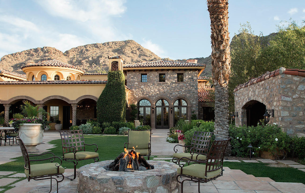 Paradise Valley magnificent estate with detached 2 bedroom guesthouse and private recording studio $25,000,000 - Robert E Joffe with Launch Real Estate