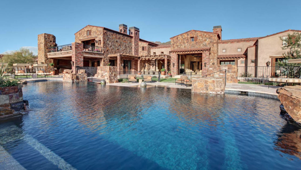 Scottsdale 6th hole golf course lot with private home theater $24,500,000 - Todd Moen & Roma Moen with M3 Realty