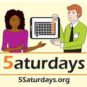 5 Saturdays Logo