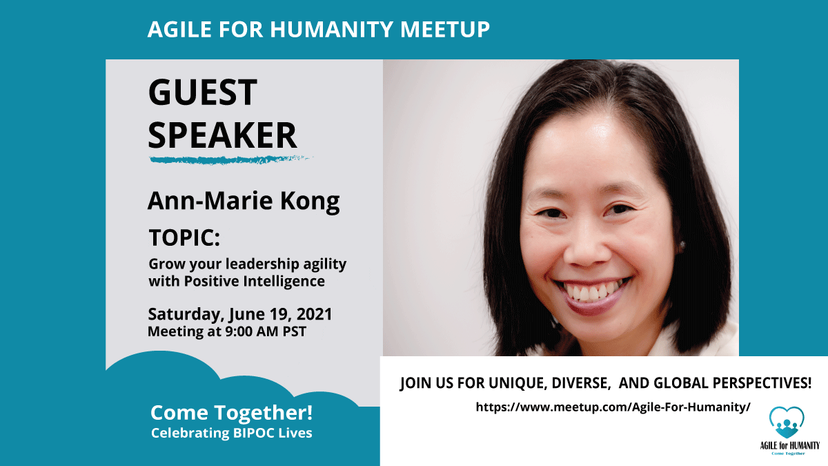 Ann-Marie Kong at AGile for Humanity Meetup