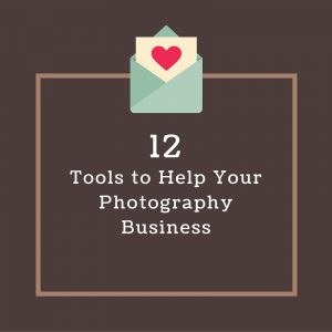 12 tools to help your photography business