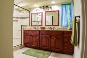 remodeled bathroom sink