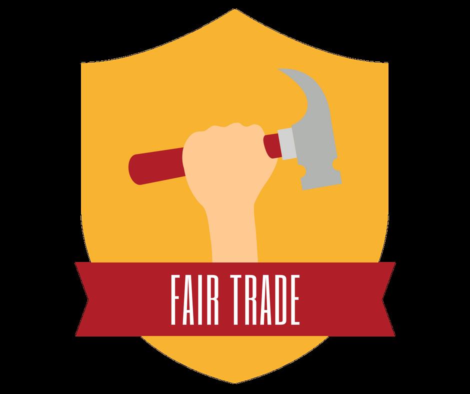 fair trade color icon