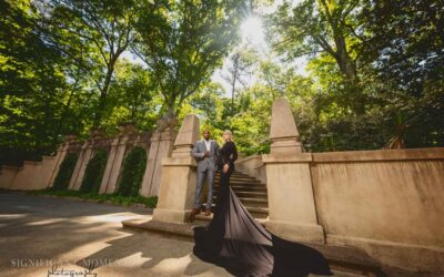 A Mansion Maternity Session Made for a Queen!