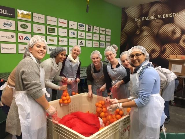 McCoy Russell Staff Volunteer at Oregon Food Bank