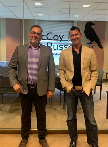 McCoy Russell Hosts Silicon Valley USPTO Director John Cabeca