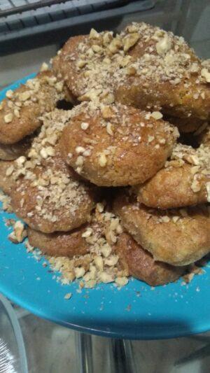 Greel Christmas cookies