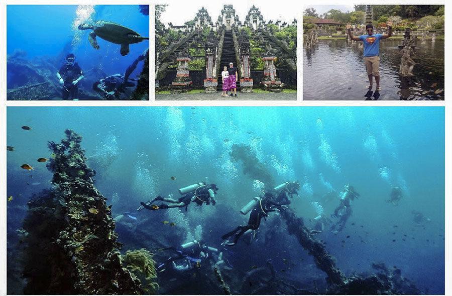 Diving Tulamben Combination of Eastern Bali