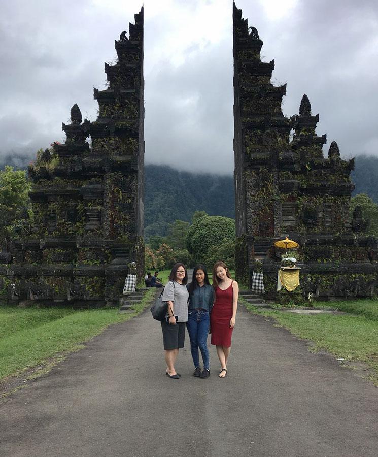 Bali Safest Driver Handara Gate