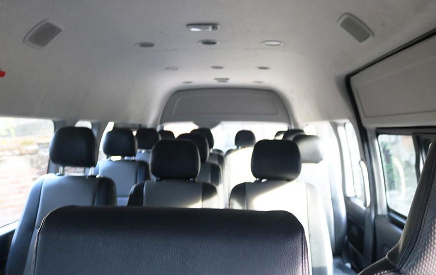 Bali Safest Driver Toyota Hiace