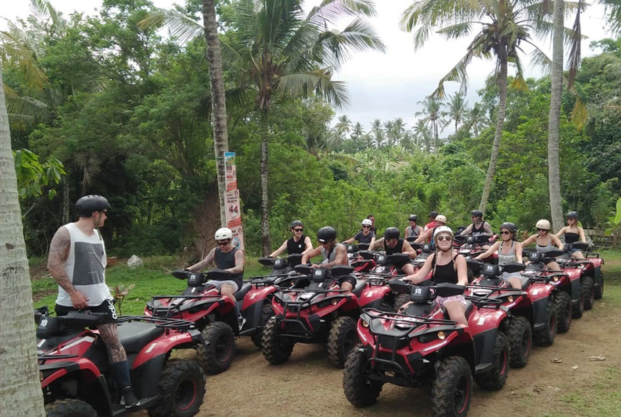Bali Ride ATV On The Beach - Bali Safest Driver - Bali Driver Tour