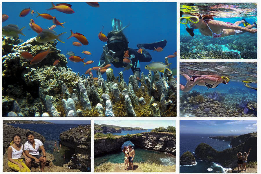 Nusa Penida Island Tour And Triple Snorkling Places