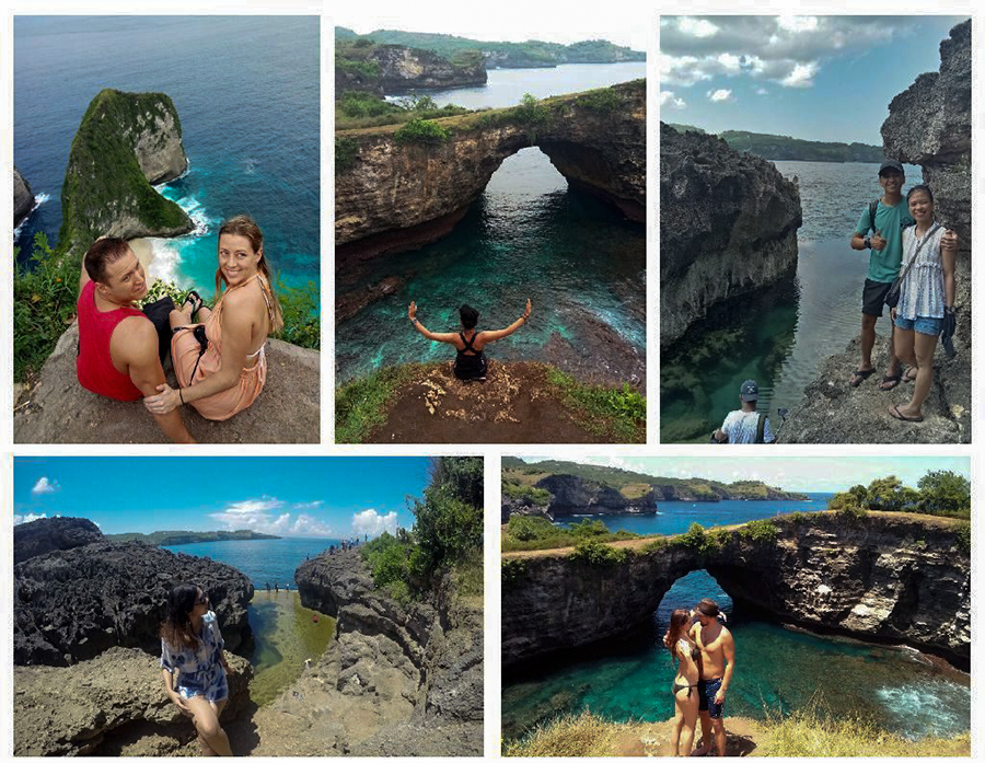 West Nusa Penida Sightseeing Tour