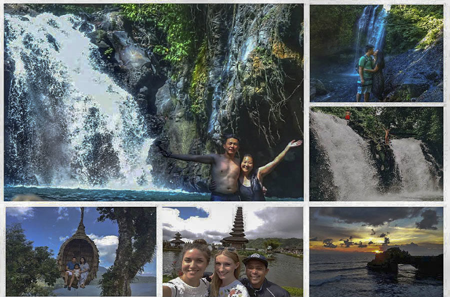 Aling-Aling Waterfall - Bedugul and Sunset Tanah Lot Tour