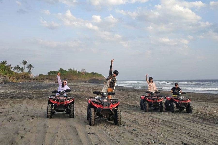 Bali Private Tour ATV Ride