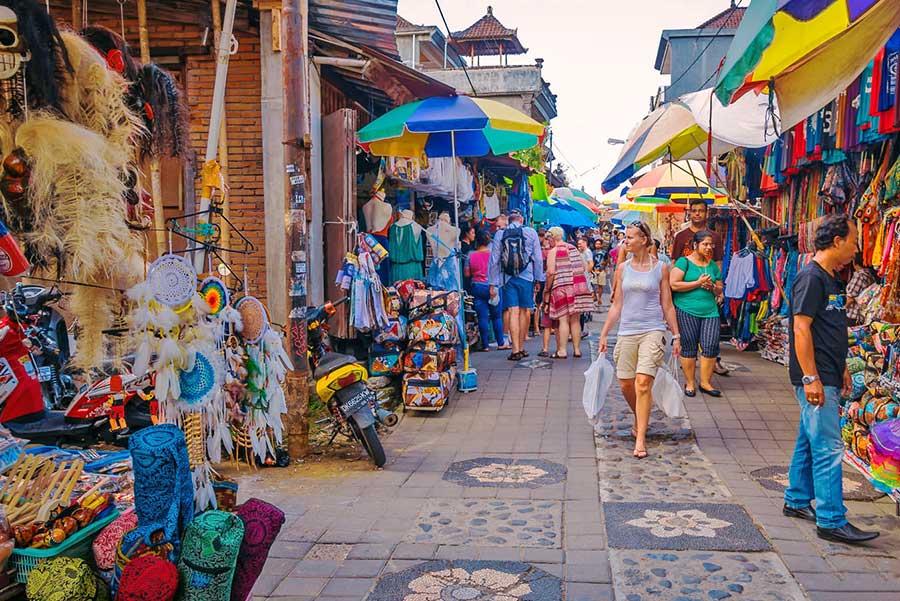 Ubud Traditional Market Bali Safest Driver Ubud Tour Combination 1 - Bali Driver Tour Sightseeing