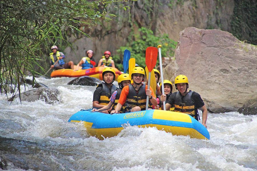 Bali White Water Rafting at Ayung River