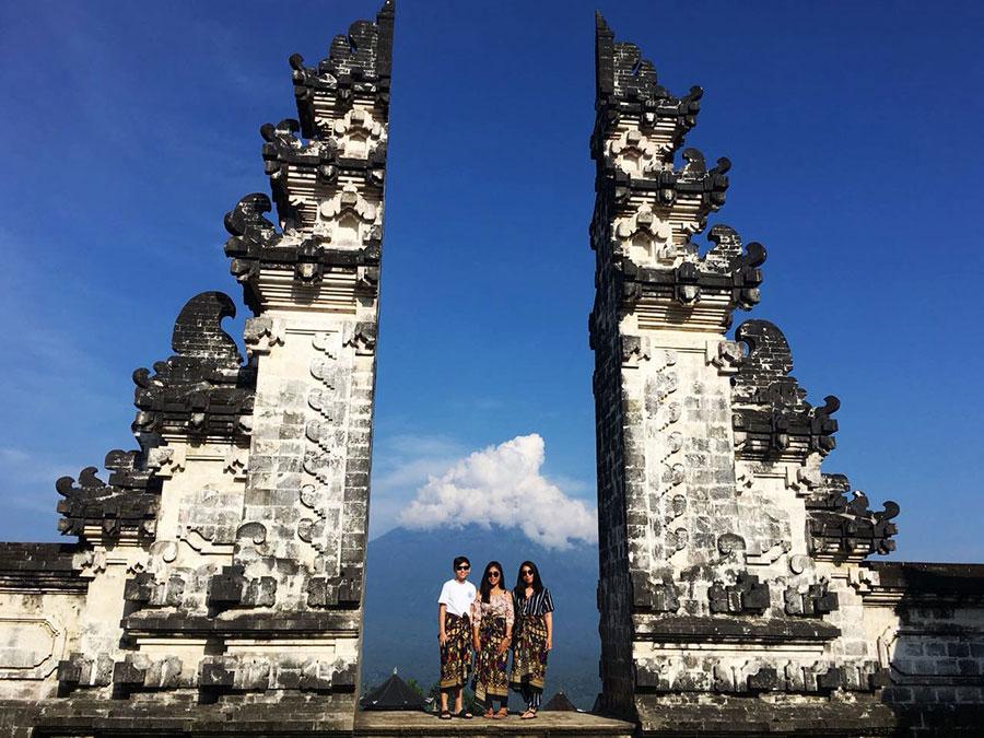 Heaven Gate Lempuyangan Temple - Bali Safest Driver - Bali Driver
