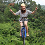 Test Your Adrenaline by Riding a Bike in the Air!