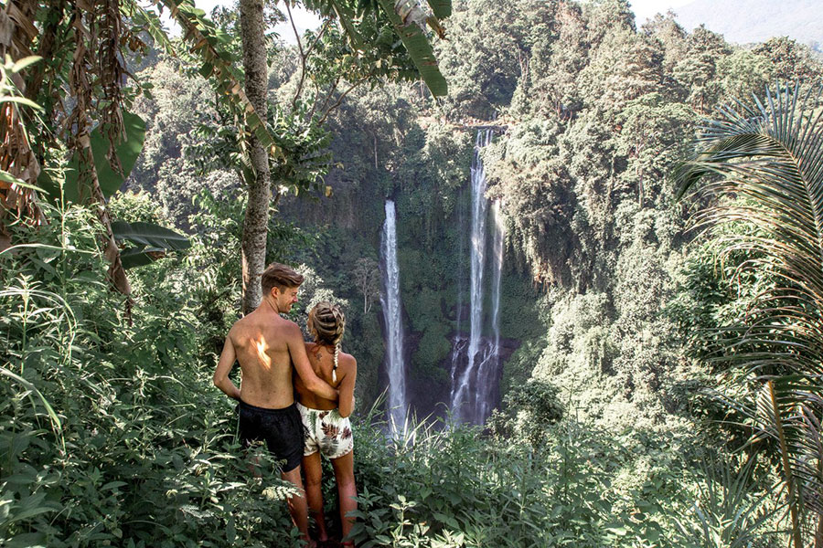 Bali Private Tour at Waterfalls