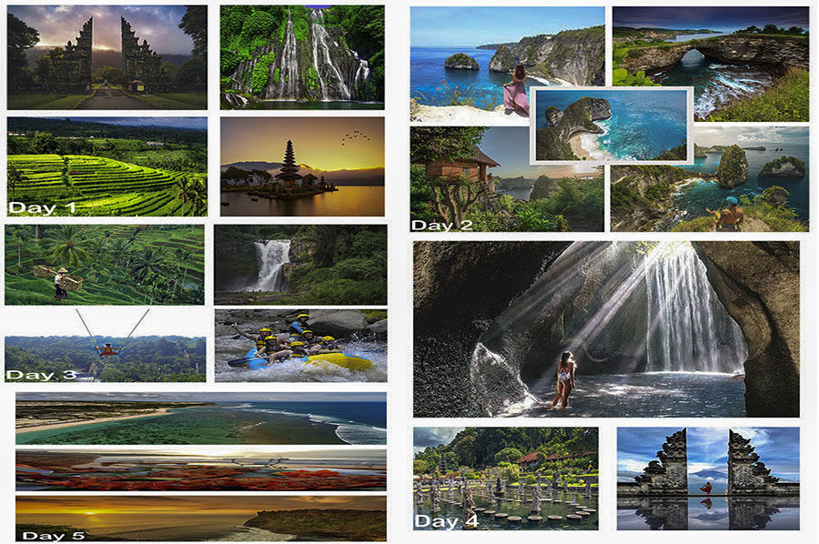 5 Days of Absolute Complete Bali Tour Package