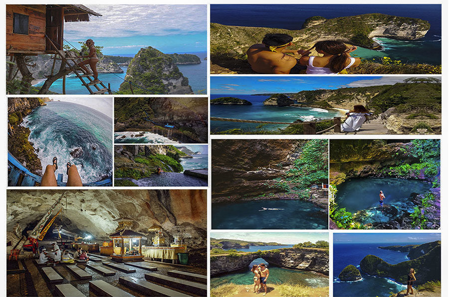 Complete East and West Nusa Penida Tour