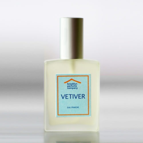 """Vetiver"" Eau Fraîche by Brooklyn Perfume Company"