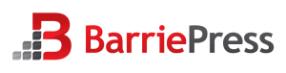 Barrie Press Logo
