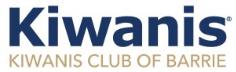 Kiwanis Club of Barrie Logo