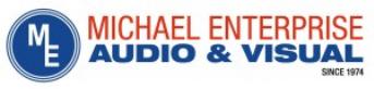 Michael Enterprise Audia & Visual Logo