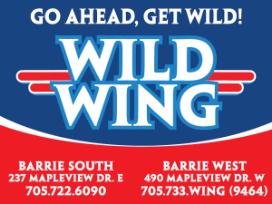 Wild Wing Barrie Logo