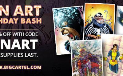 Fan Art Friday The 13th Kick Off Sale!