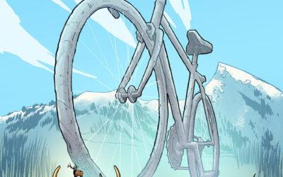 Summer Art Dump: West Elk Bicycle Classic