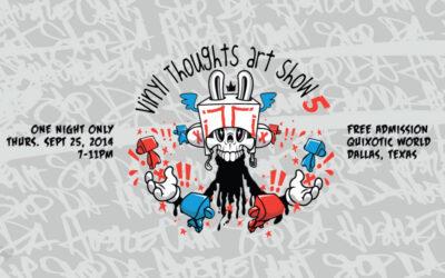 Vinyl Thoughts Art Show