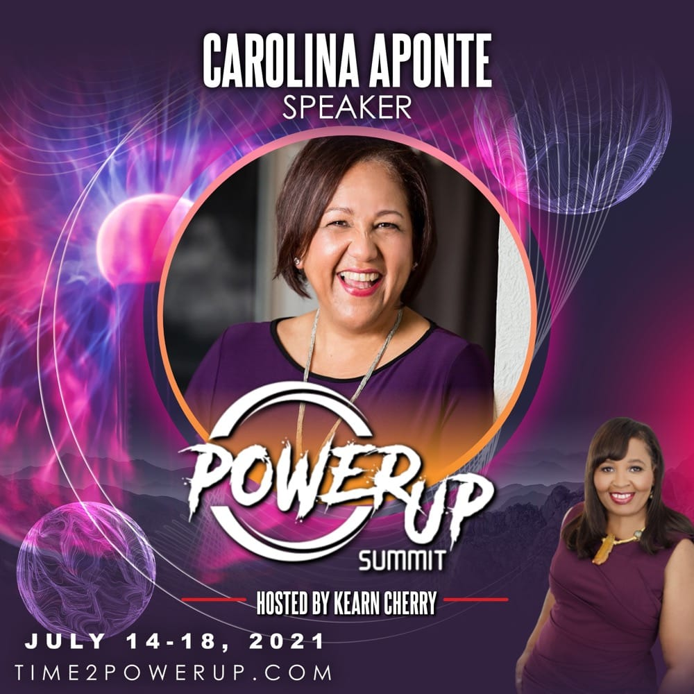 Carolina Aponte Power Up Summit