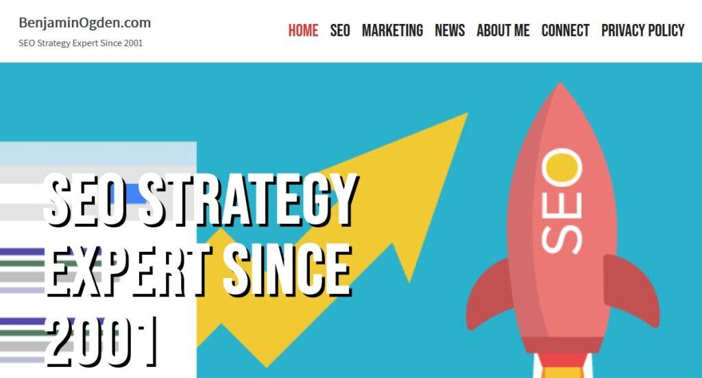 SEO Strategy Expert Benjamin Ogden