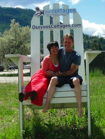 Elsa and John on their honeymoon. They are looking forward to starting an orphanage in Mexico.