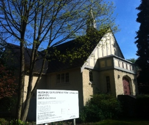 errisdale Church was named one of Heritage Vancouver's Top 10 Endangered Sites.