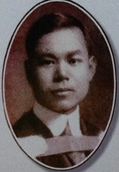 Philip Yuey Yit Chu arrived in Vancouver from China as a 13 year old fatherless boy in 1911. He served as a medical doctor in Vancouver and Toronto, with several years in China in between. (Chinese United Church, Vancouver)