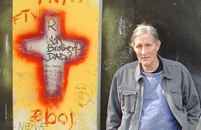 Bud Osborn will be greatly missed in the Downtown Eastside. Photo by Al McKay.