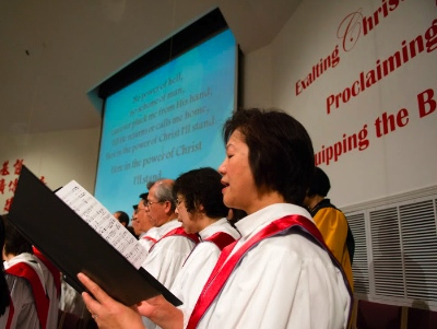 Hymn festivals have been going on for several years in this area. CMMC photo.