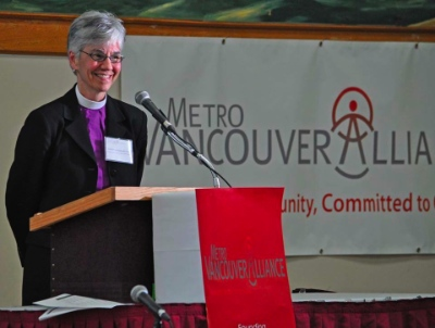 Bishop Melissa Skelton of the Anglican Diocese of New Westminster. Photo by Randy Murray.