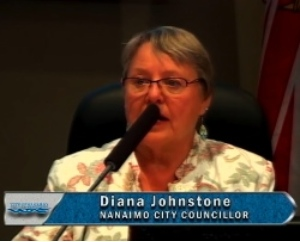 Councillor Diana Johnstone says she wants to do the right thing for all Nanaimo citizens.