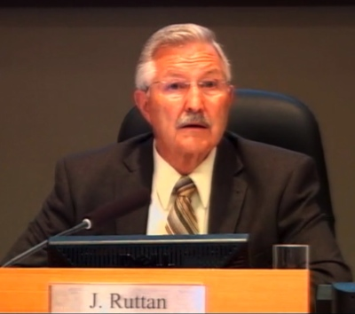 Mayor John Ruttan apologized for the city council's May 5 decicision and