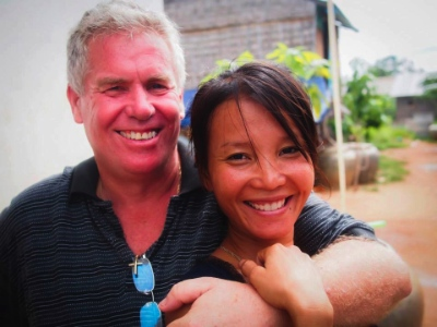 Kevin Knight and his wife Leakhena Phan will be in Vancouver for a few days.