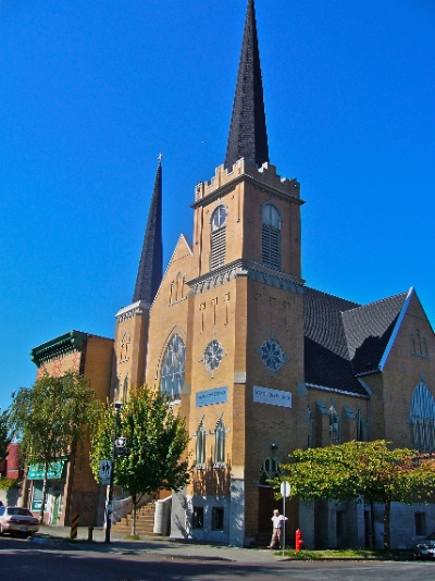 Strathcona Church will be home to at least three congregations, and they plan to work together for the good of their neighbourhood. Photo by Frank Stirk.