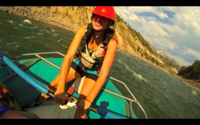 Bethany has experience with river rafting, though not enough, according to Amaruk.
